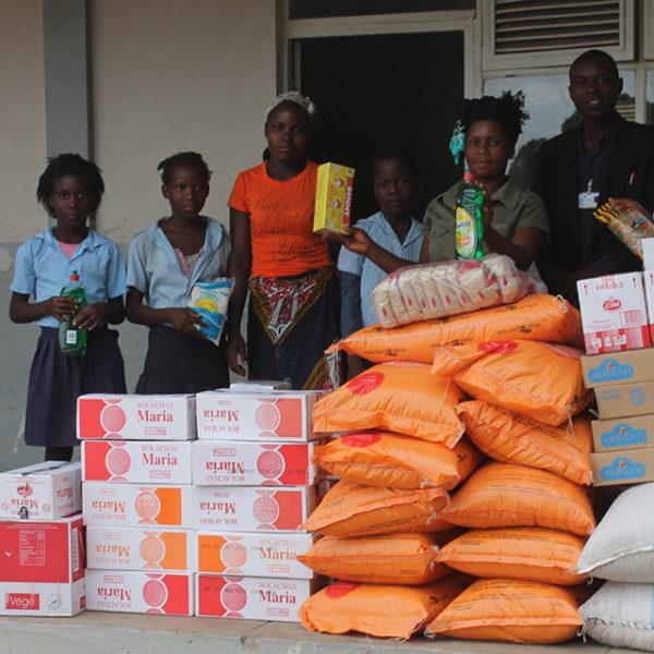 fornitura di cibo mozambico