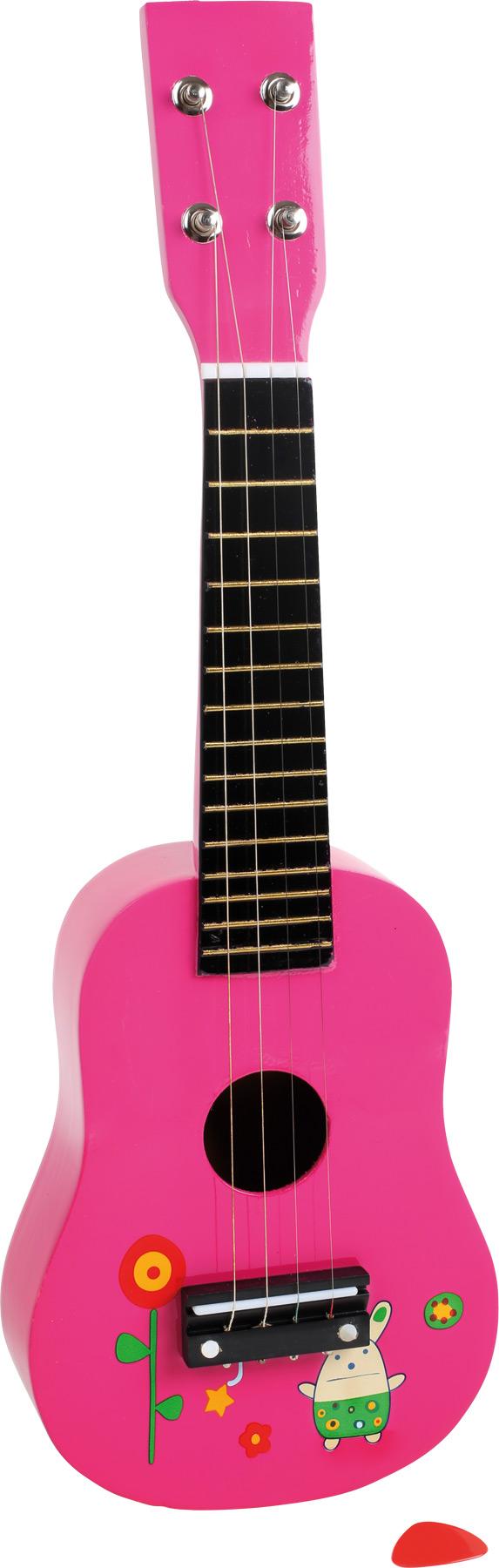 chitarra design rosa