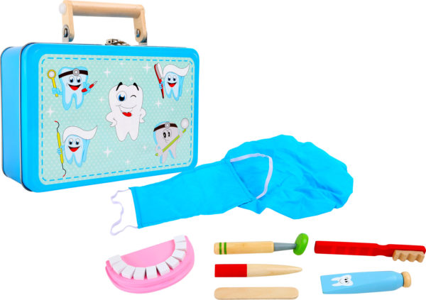 valigetta e attrezzi dentista