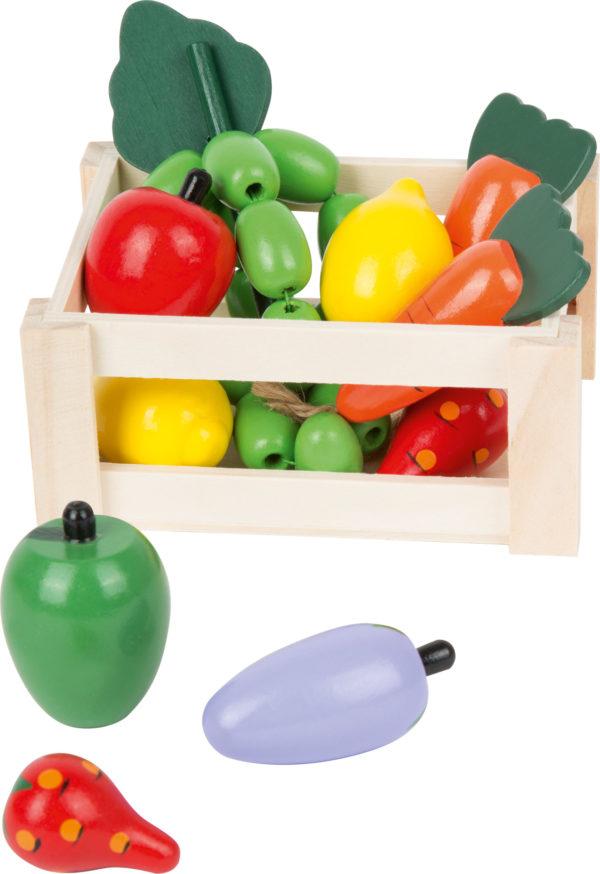 Cassetta di verdure in legno 2