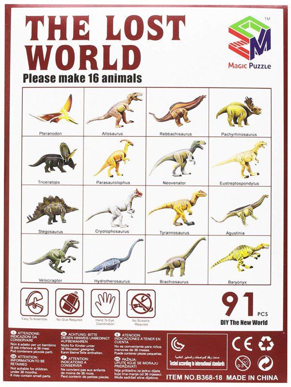 puzzle dinosauri 2