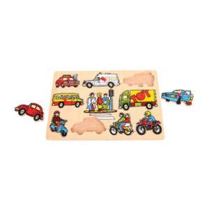 puzzle a estrazione veicoli