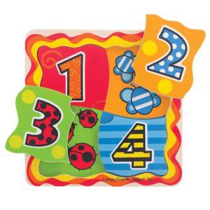 Il mio Primo Puzzle di Abbinamento - Numeri
