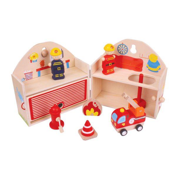 mini stazione dei pompieri