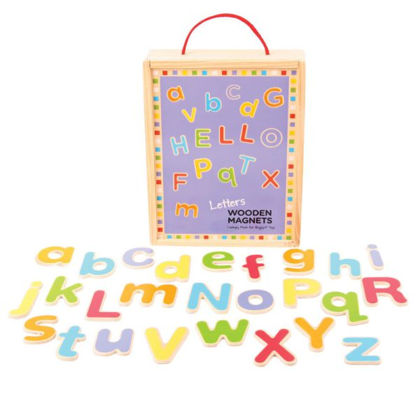 alfabeto in legno