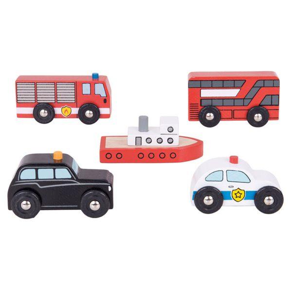 set veicoli da citta
