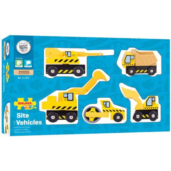 Set veicoli da costruzione pack