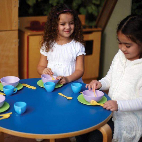 momenti di gioco con set piatti
