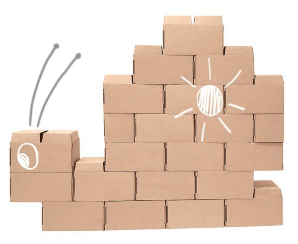 blocchi costruzione lumaca