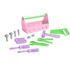 set attrezzi rosa