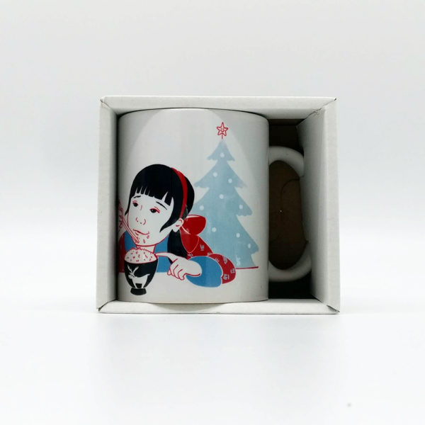 Tazza mug bimba asiatica - scatola
